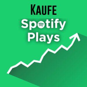 Spotify Streams kaufen